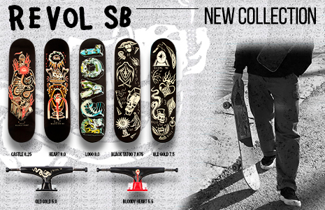 Revol Skateboards 2019